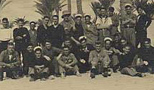 Survivors at HMS Grebe in Dekila, Egypt