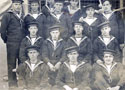 Sent in by Susan Jacobs whos grandfather served on the Barham in WW1