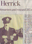 Article about the captain of the ship that picked up the survivors. - sent in by Janice Clark (daughter of John Cross)