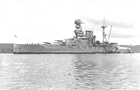 HMS Barham in 1934, post Jutland
